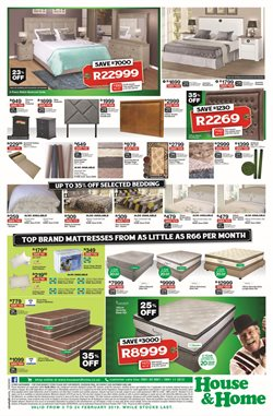 Pillow offers in the House & Home catalogue in Cape Town