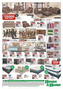 Headboard offers in the House & Home catalogue in Cape Town