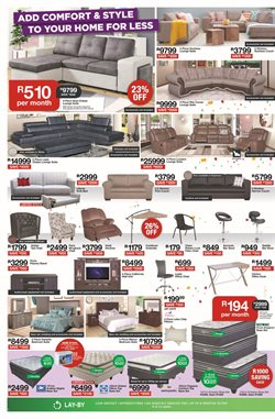 Furniture offers in the House & Home catalogue in Cape Town