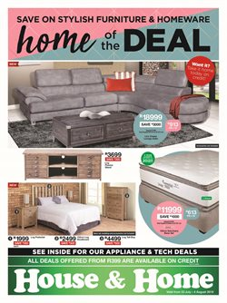 House & Home deals in the Edenvale special