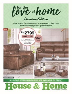 House & Home deals in the Durban special