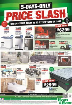 House & Home deals in the Sandton special