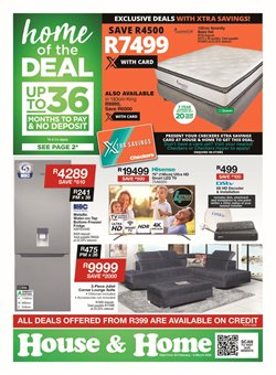 Hisense specials in House & Home