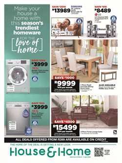 House & Home catalogue ( Expires tomorrow )