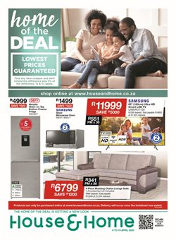 House & Home catalogue in Pretoria ( 2 days ago )