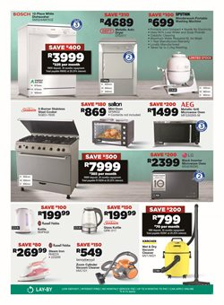 Gas stove specials in House & Home