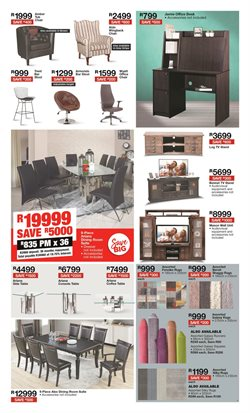 Dining room chair specials in House & Home