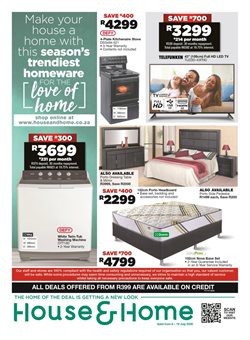 House & Home catalogue in Durban ( 3 days left )