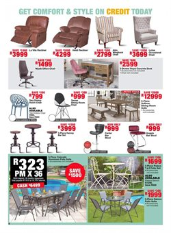 Table specials in House & Home