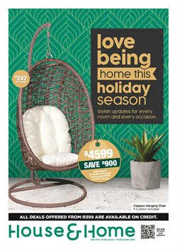 Christmas offers in the House & Home catalogue ( 26 days left)