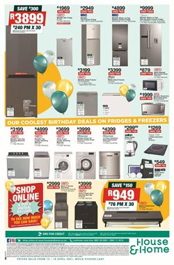 Juicer specials in House & Home