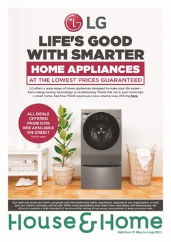 House & Home offers in the House & Home catalogue ( 21 days left)