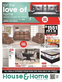 Home & Furniture offers in the House & Home catalogue ( Expires tomorrow)