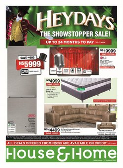 Home & Furniture offers in the House & Home catalogue ( Expires today)