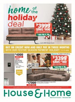 Home & Furniture offers in the House & Home catalogue ( 9 days left)