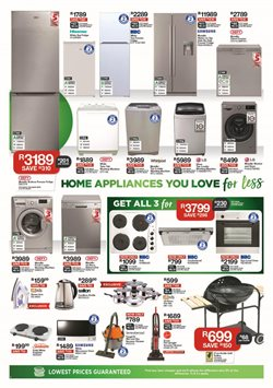 Fridge freezer offers in the House & Home catalogue in Cape Town