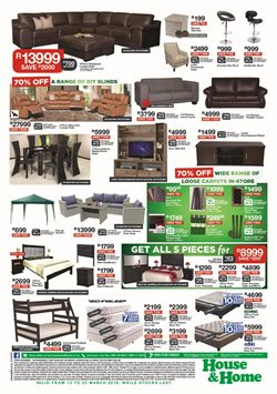 Living room offers in the House & Home catalogue in Cape Town
