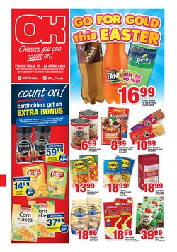 OK Grocer deals in the Sasolburg special