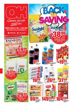 OK Grocer deals in the Pretoria special