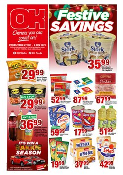 Groceries offers in the OK Grocer catalogue ( Published today)