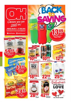 OK Value deals in the Johannesburg special