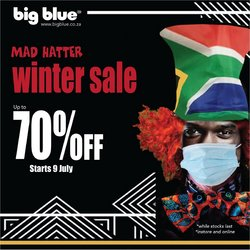 Big Blue offers in the Big Blue catalogue ( 6 days left)