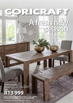 Table offers in the Coricraft catalogue in Cape Town