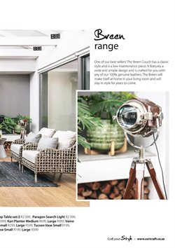 Sofa offers in the Coricraft catalogue in Cape Town