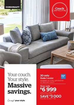 Coricraft deals in the Cape Town special