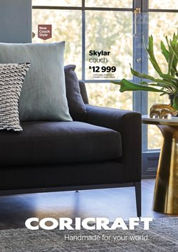 Home & Furniture offers in the Coricraft catalogue in Durban ( More than a month )