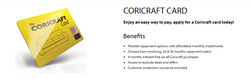 Coricraft deals in the Sandton special