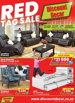 Home & Furniture offers in the Discount Decor catalogue in Pretoria ( More than a month )