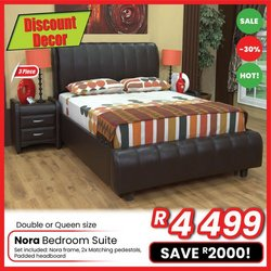 Home & Furniture offers in the Discount Decor catalogue ( Expires today)