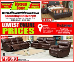 Discount Decor deals in the Durban special