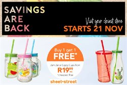 Black Friday offers in the Sheet Street catalogue in Cape Town