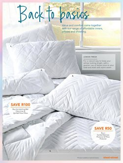 Pillow offers in the Sheet Street catalogue in Cape Town
