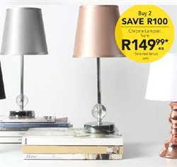 Lamp offers in the Sheet Street catalogue in Khayelitsha