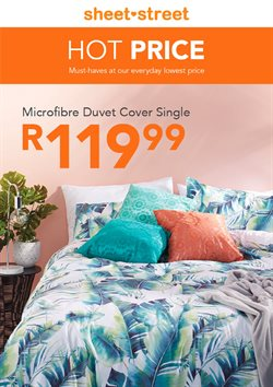 Sheet Street deals in the Pretoria special
