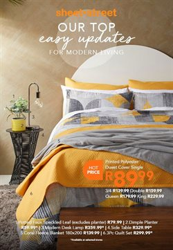 Home & Furniture offers in the Sheet Street catalogue ( 5 days left )