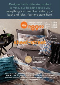 Home & Furniture offers in the Sheet Street catalogue in Benoni ( 27 days left )
