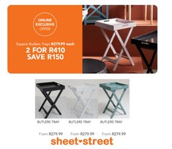 Home & Furniture offers in the Sheet Street catalogue ( 4 days left)