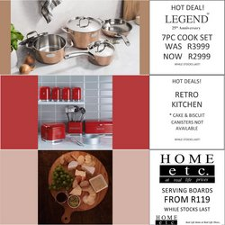 Home etc offers in the Home etc catalogue ( 1 day ago)