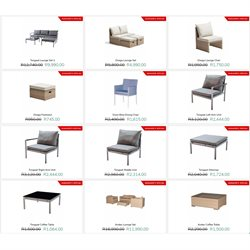 Table specials in Patio Warehouse