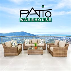 Patio Warehouse catalogue ( 1 day ago )