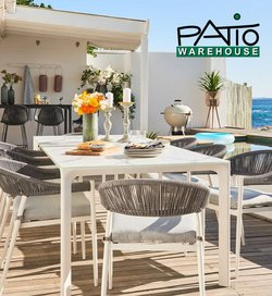 Patio Warehouse catalogue ( Published today)