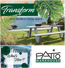 Patio Warehouse deals in the Umhlanga Rocks special