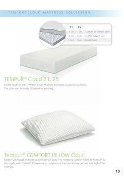 Pillow specials in Tempur