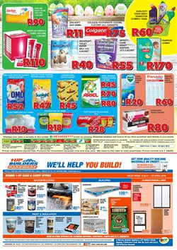 Toilets offers in the 1UP catalogue in Cape Town