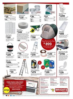 Toilets offers in the Brights Hardware catalogue in Cape Town