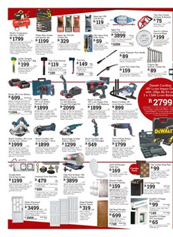 Grinder offers in the Brights Hardware catalogue in Cape Town